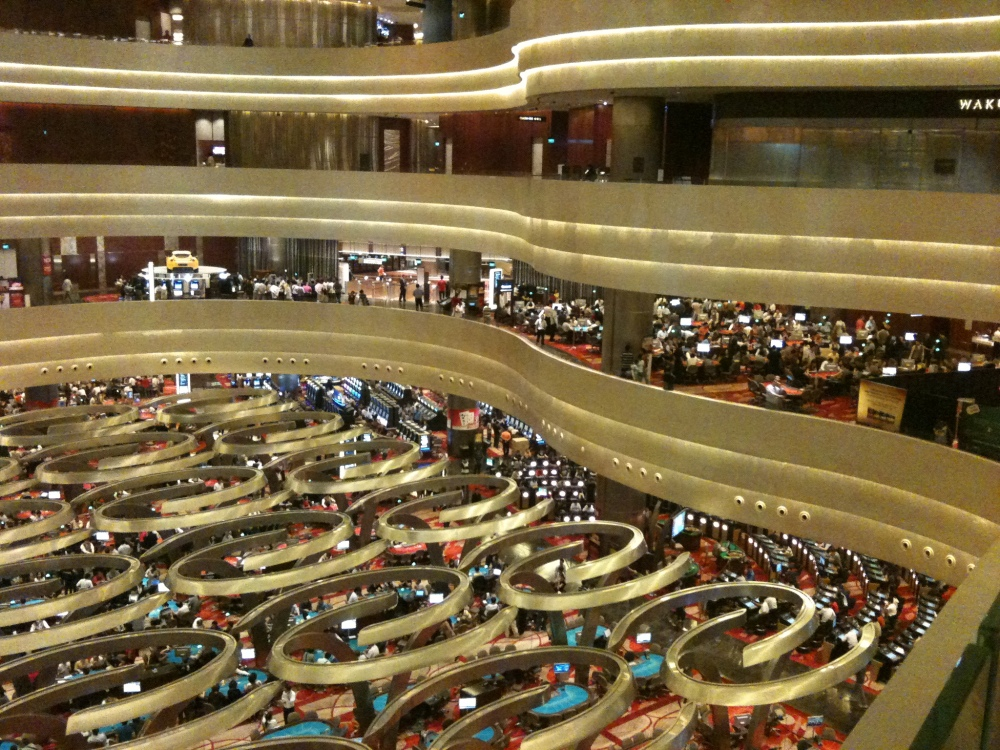 Singapore's Marina Bay Sands Casino